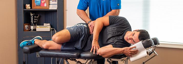 sports massage for faster sports injury rehabilitation